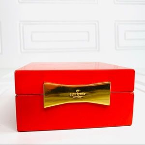 Kate Spade NY Garden Drive Jewelry Box Red Lacquer